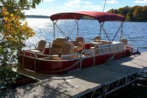 wisconsin pontoon boat rentals